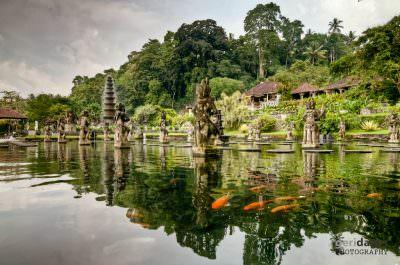 Tirta Gangga water palace, Bali.